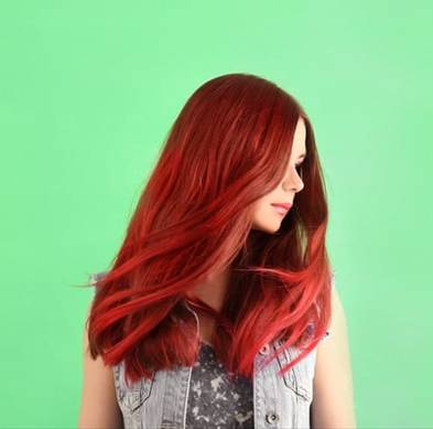 Fire-Engine Red or Copper-Red Hair Colour hair health blog